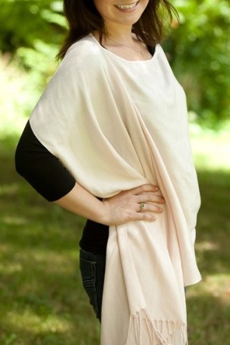 Jolly Jumper Pink Pashmina nursing cover
