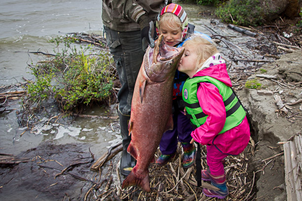 Salmon Fishing in the Kuskokwim