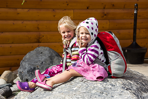 Kids in Denali Park