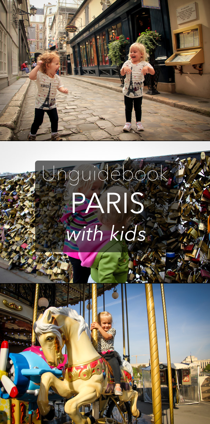 Unguidebook Paris with Kids
