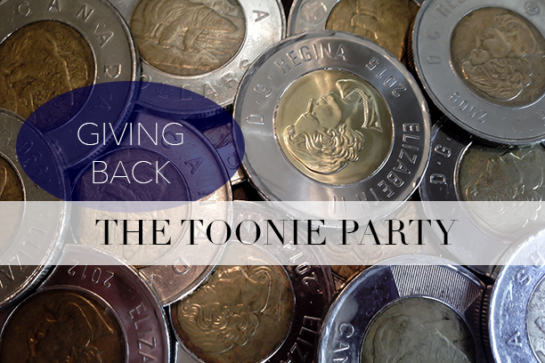 A Toonie Party