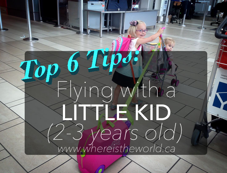 Tips for Flying with Little Kids