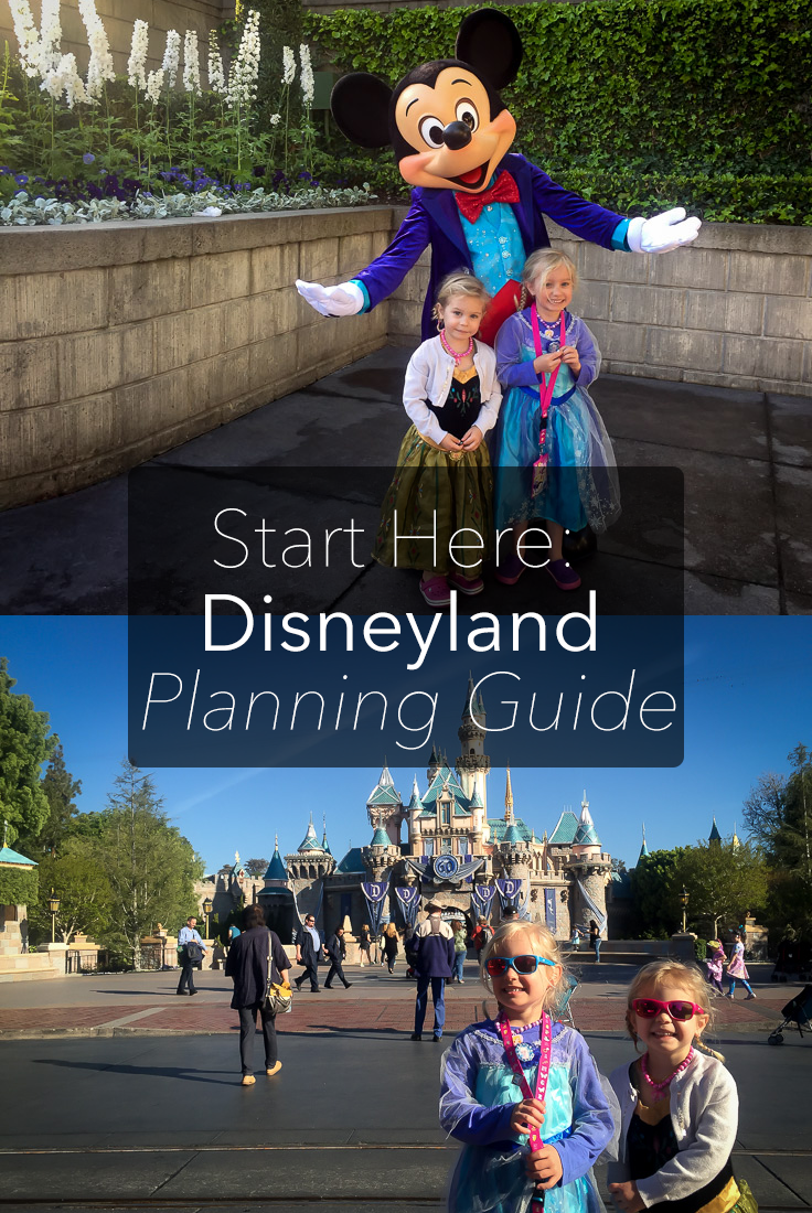 My Disneyland Planning Guide