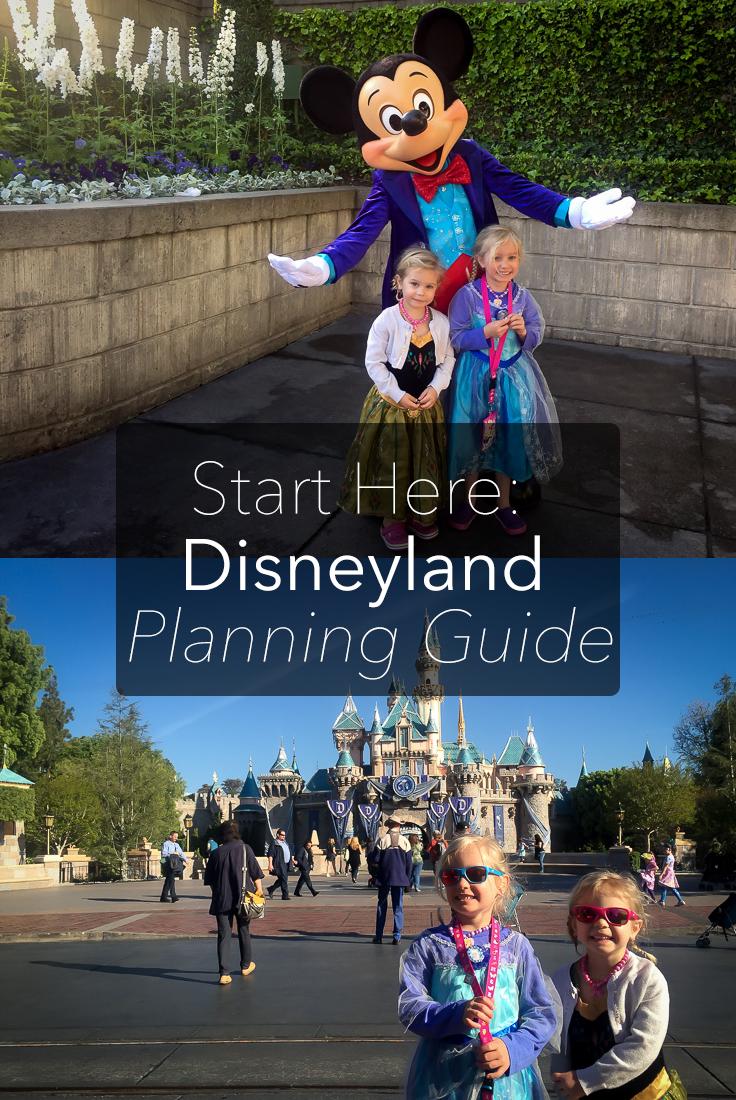 My Disneyland Planning Guide