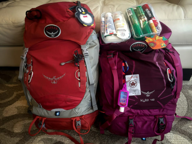 Carry-on packing list for multi-season travel