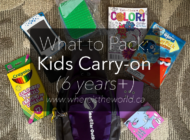 What to Pack in a Kids Carry-on