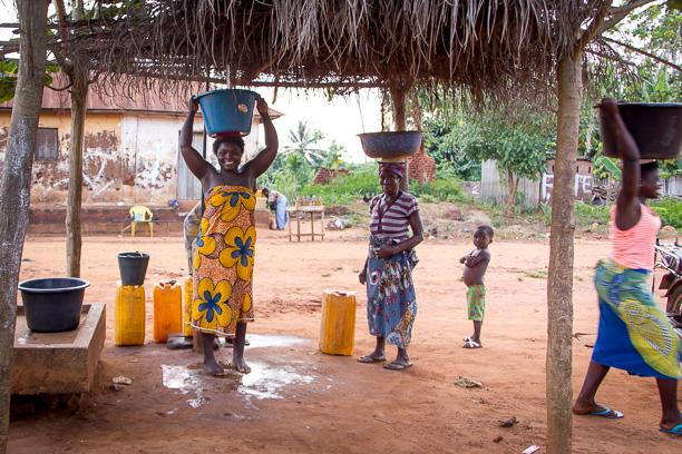 Village Stay in West Africa