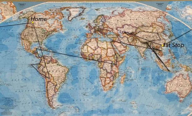 the route for our rtw