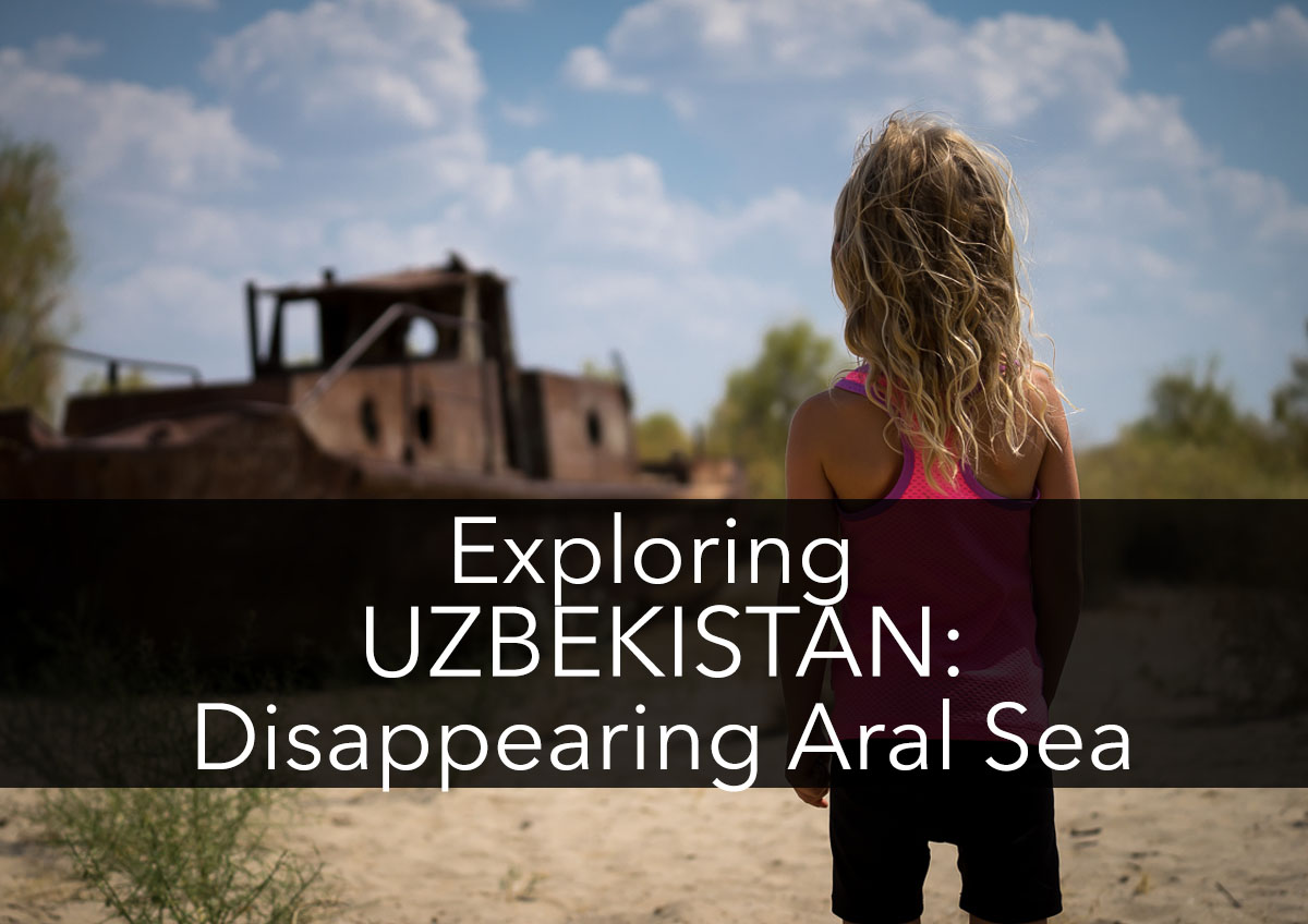 The Disappearing Aral Sea With Kids