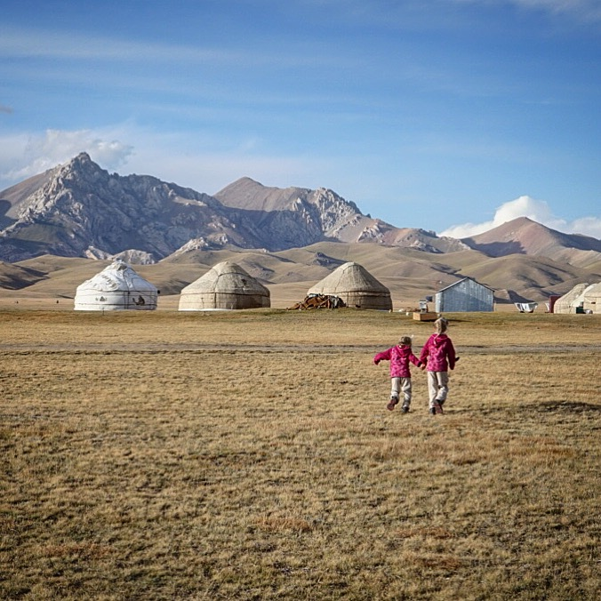 We're not running away from Kyrgyzstan!
