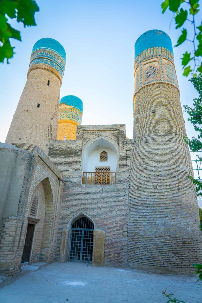Chor Minor in Bukhara along Uzbekistan's Silk Road