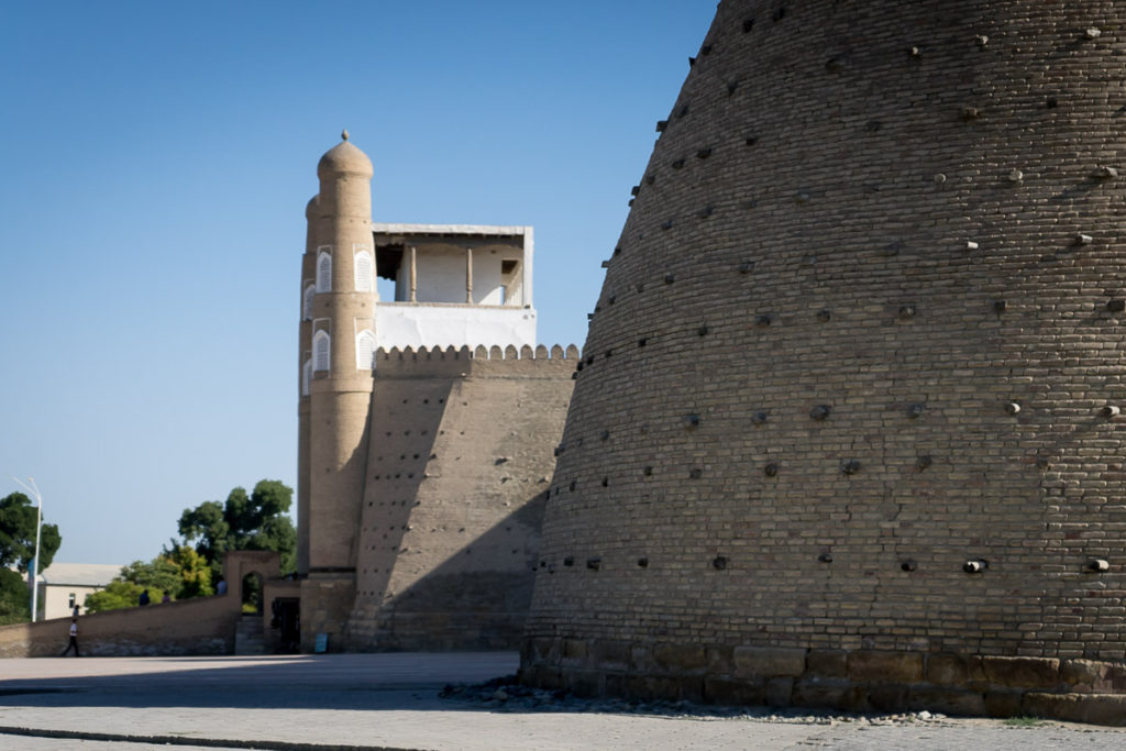 The Ark in Bukhara along Uzbekistan's Silk Road