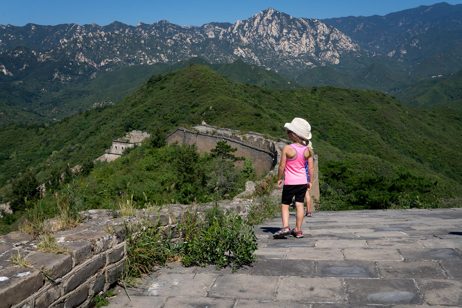 Off The Beaten Path At The Great Wall of China with Kids