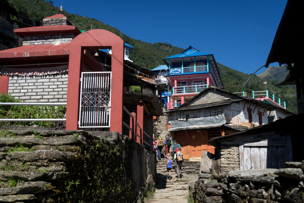 Hille to Ghorepani with Kids