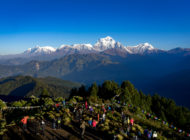 Poon Hill Trek Day Three: Ghorepani to Poon Hill to Tadapani with Kids