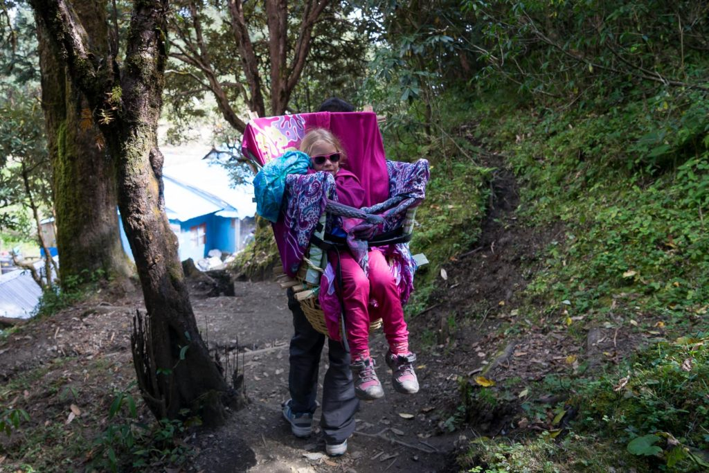 Ghorepani to Poon Hill to Tadapani with Kids