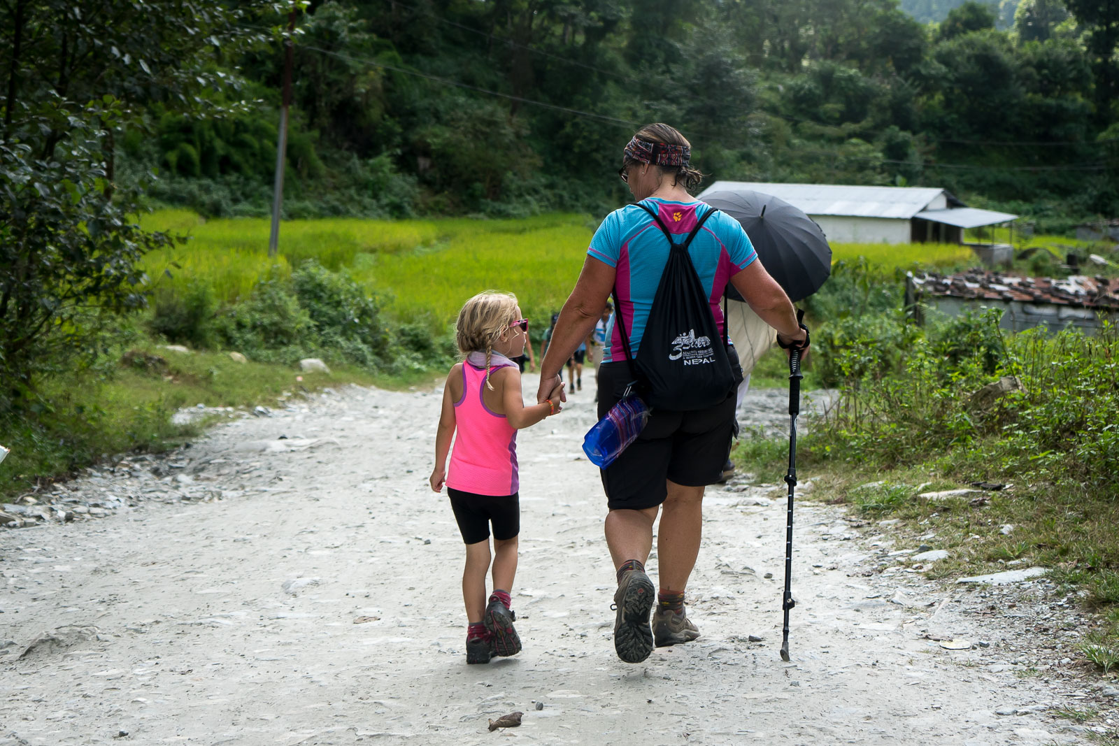 Poon Hill Trek Day Five: Ghandruk to Pokhara with Kids