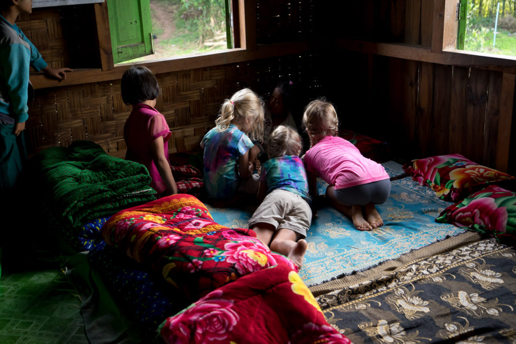 Kalaw Trekking in Myanmar with Kids