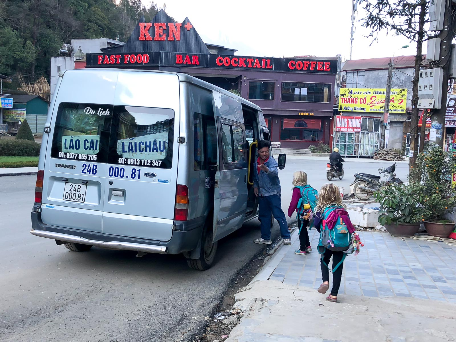 Taking the Bus from Vietnam to Laos