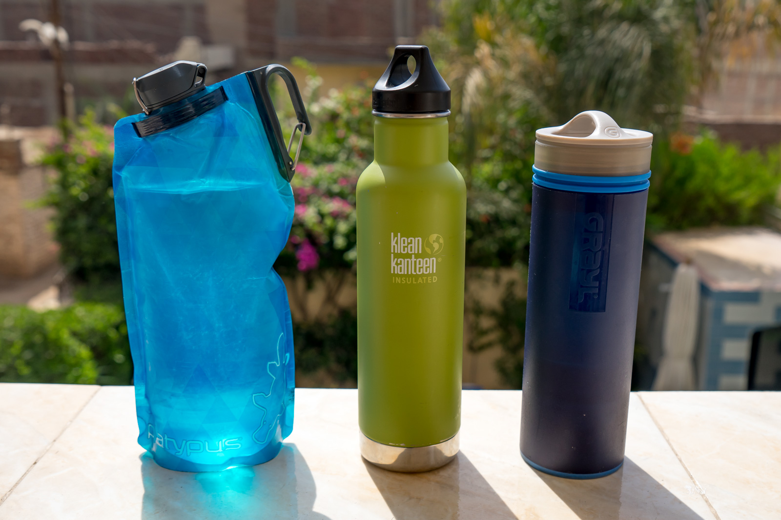 The Best Travel Water Bottle with a Filter