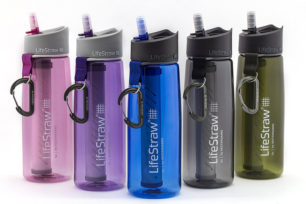 Lifestraw Go Water Bottle with Filter for Travel