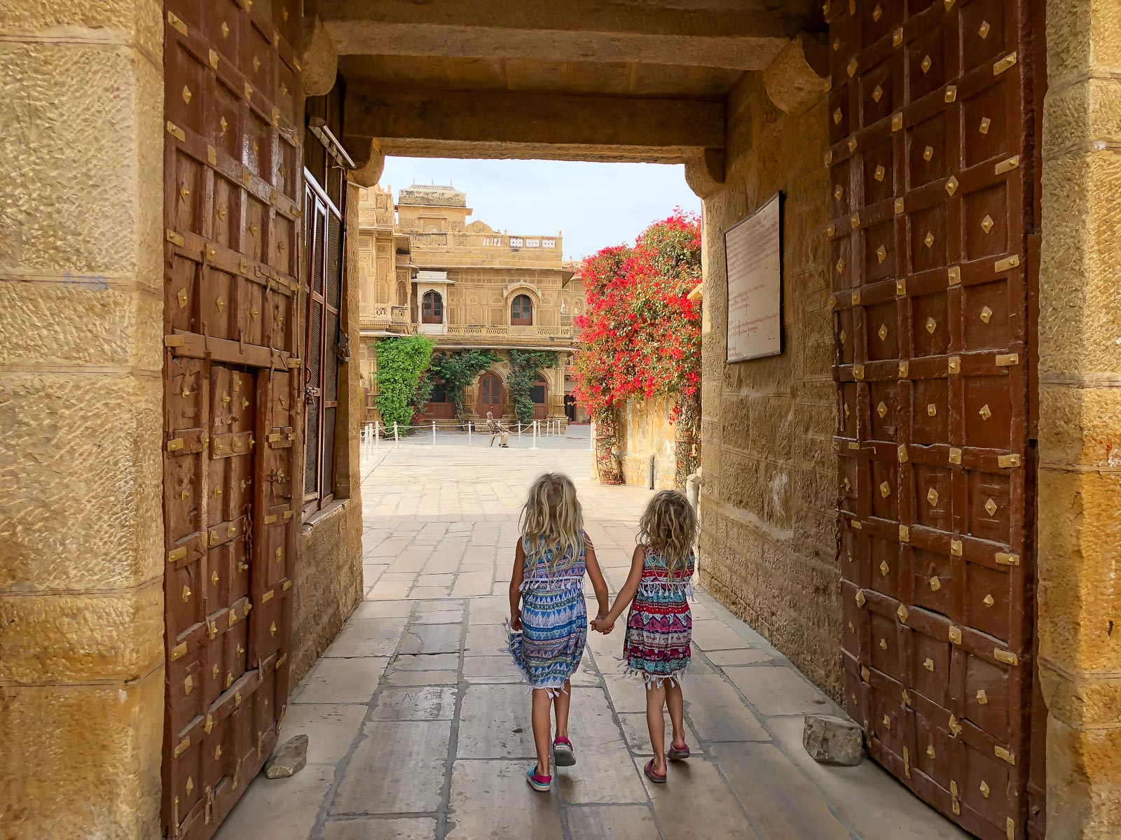 India Family Travel Journal – Visiting Jaisalmer with Kids