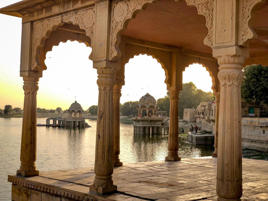 Gandisar Lake in Jaisalmer