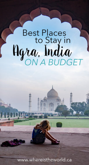 If you're planning to visit the Taj Mahal you NEED to check out the best places to stay in Agra. #tajmahal #agra #budgetagra #agrahostels #placestostayagra #agrahotels
