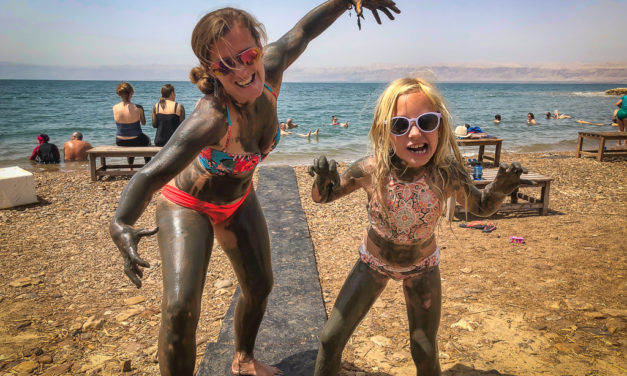 A Salty Stop at The Dead Sea With Kids