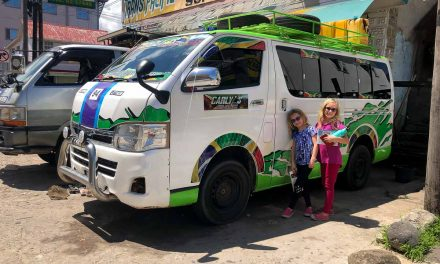 Taking The Bus From Georgetown To Lethem, Guyana (with kids!)